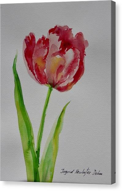 Watercolor Series No.  228 Canvas Print