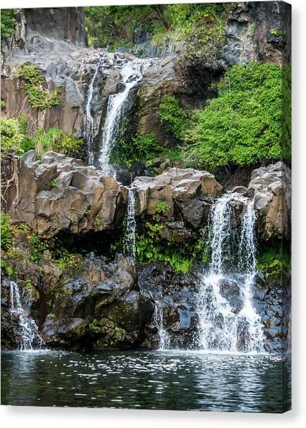 Waterfall Series Canvas Print