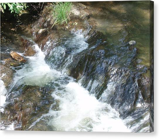 Waterfall Cresendo Canvas Print