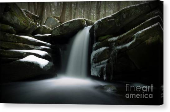 Waterfall From A Dream Canvas Print