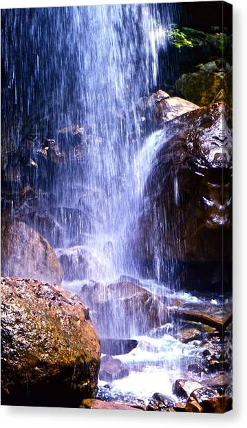 Waterfall In Tennessee Canvas Print
