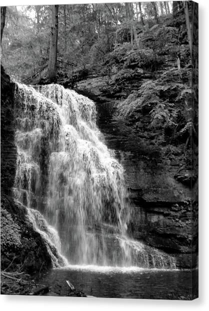 Waterfall Canvas Print by Jessica Dandridge