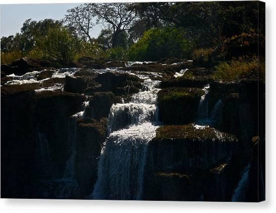 Waterfall Canvas Print by Miranda  Miranda