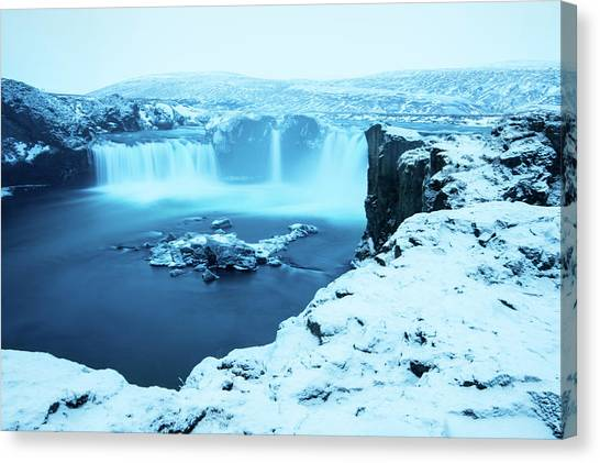 Waterfalls Canvas Print - Waterfall Of The Gods by Tyler Soden