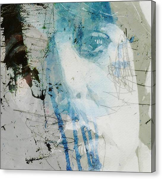 Paul Mccartney Canvas Print - Waterfall  by Paul Lovering