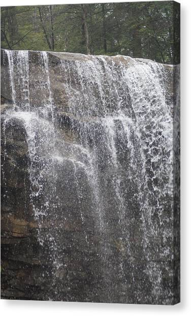 Waterfalls Canvas Print by Heather Green
