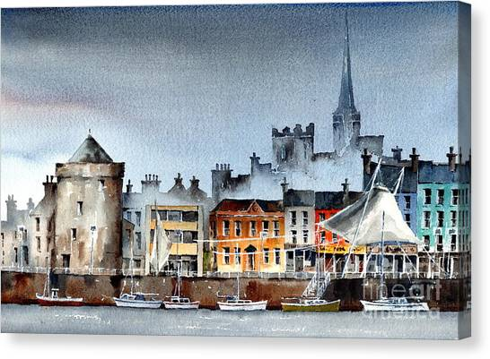Waterford  City Quays Canvas Print