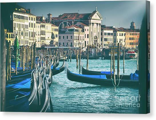 Waterfront Canvas Print by Alessandro Giorgi Art Photography