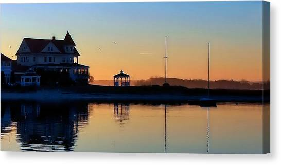Waterfront Living Canvas Print