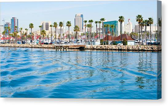 Waterfront Parallels Canvas Print