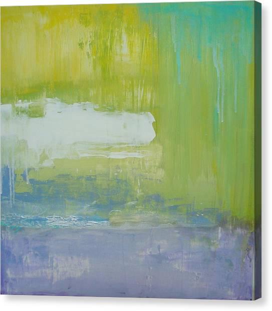 Waterlilly Canvas Print by Ora Birenbaum