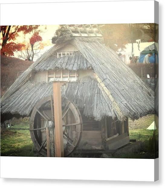 Fairies Canvas Print - #watermill #countryside #japan #tourism by Kanna Fairy