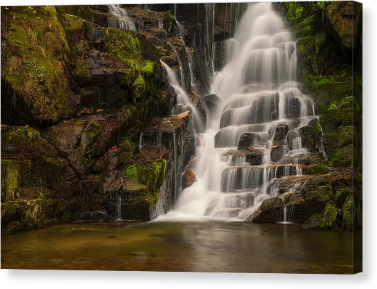 Water's Staircase Canvas Print