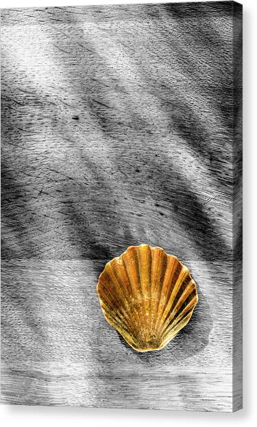 Waterside Memory Canvas Print