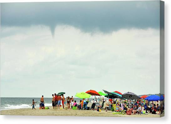 Waterspout Canvas Print by JAMART Photography