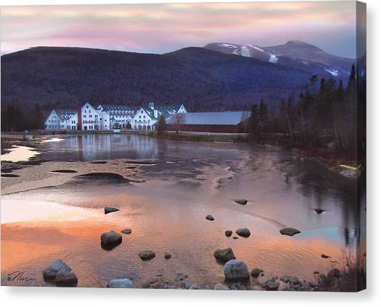 Waterville Valley Sunset Canvas Print