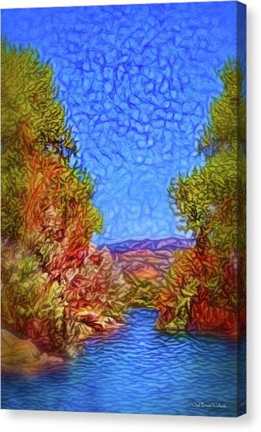 Waterway Reverie Canvas Print