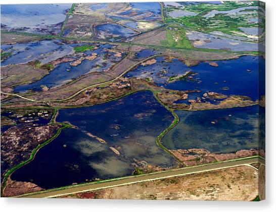 Waterways 2 Canvas Print by Sylvan Adams