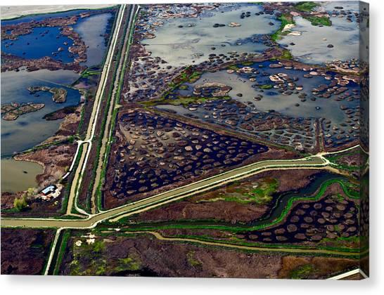 Waterways9 Canvas Print by Sylvan Adams