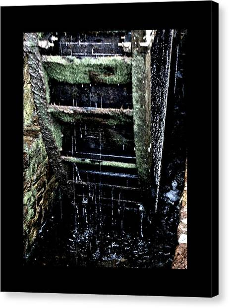 Waterwheel 1 Canvas Print