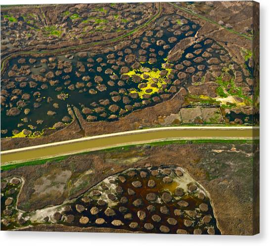 Waterworks 5 Canvas Print by Sylvan Adams