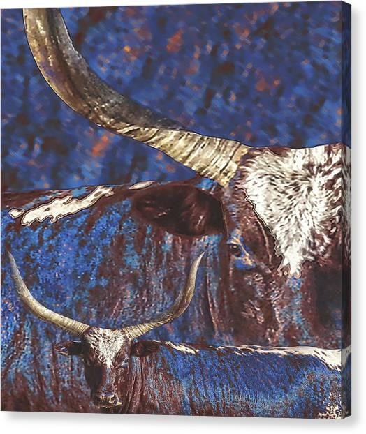 Watusi Blues Canvas Print