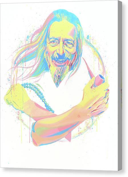 Yogi Canvas Print - Watts by Aaron Moore
