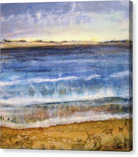 Wave 2 Canvas Print
