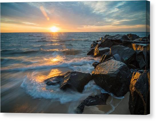 Wave Break Canvas Print