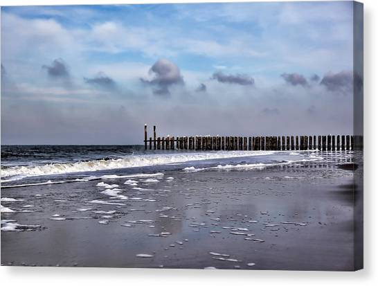Wave Breakers Canvas Print