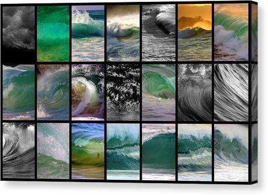 Wave Chart Canvas Print