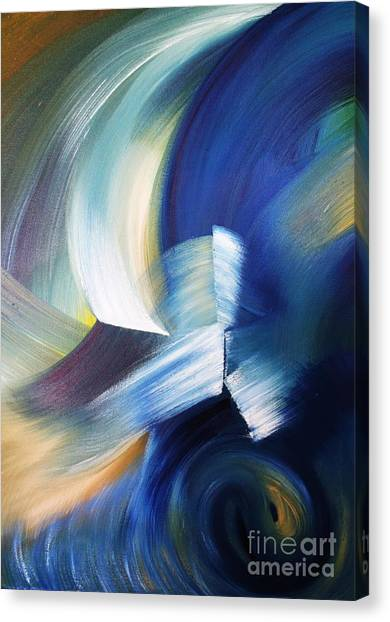 Wave Canvas Print by Ellen Young