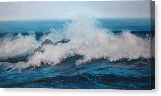 Wave Canvas Print by Linda Preece