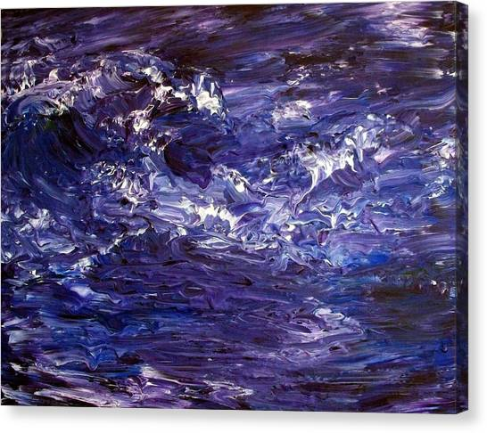 Wave Of Life Canvas Print by Robin Monroe