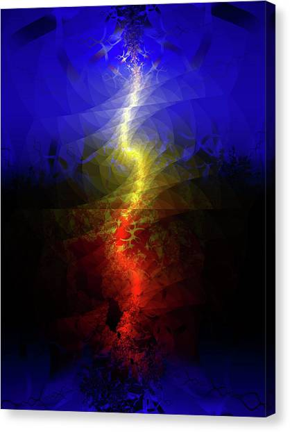 Wave Of Possibility Canvas Print