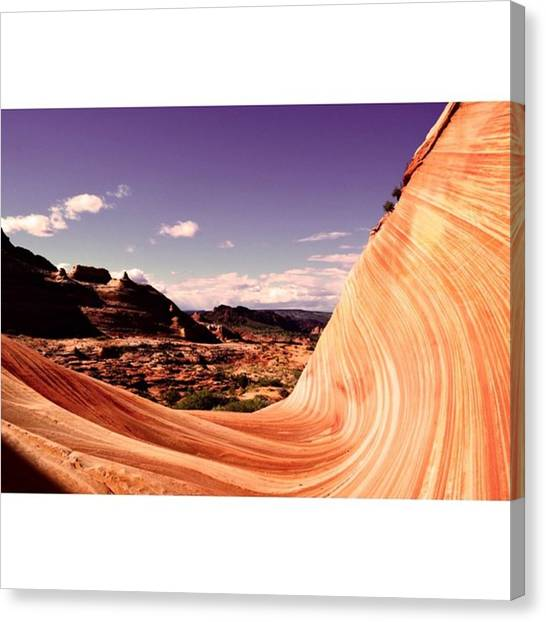 Star Trek Canvas Print - Wave Rock - Arizona Desert by Scotty Brown