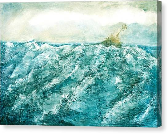wave V Canvas Print by Martine Letoile