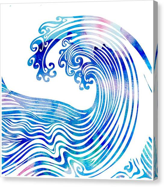 Waveland Canvas Print