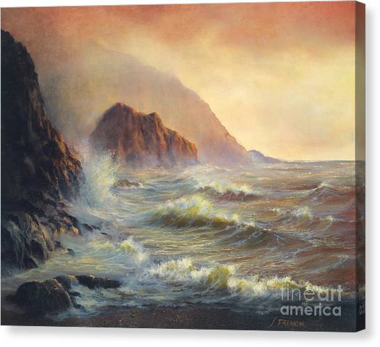 Waves After The Storm Canvas Print