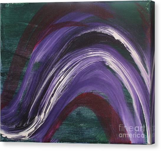 Waves Of Grace Canvas Print