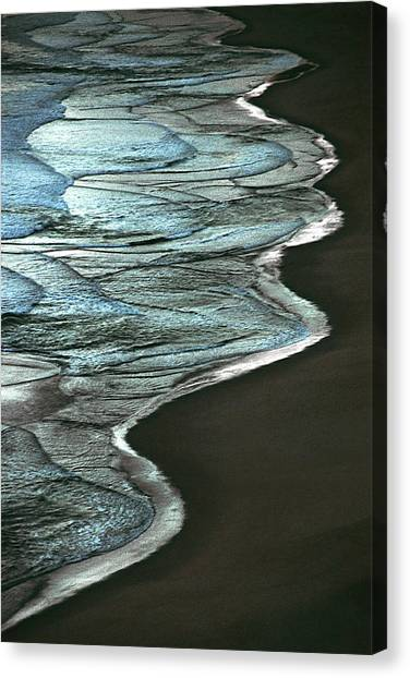 Waves Of The Future Canvas Print