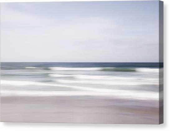 Waves Rush Canvas Print