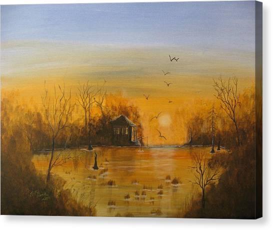 Way Back Canvas Print by Betty Reineke
