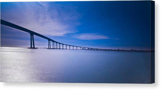 Way Over The Bay II Canvas Print