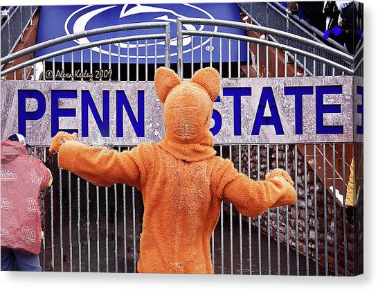 Pennsylvania State University Canvas Print - We Are Penn State by Alexa Keeley