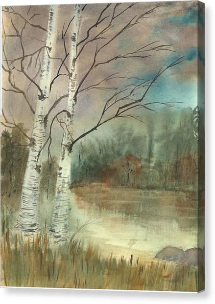 We Two Canvas Print by George Markiewicz