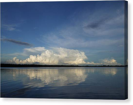 Weather From Tampa Bay 871 Canvas Print