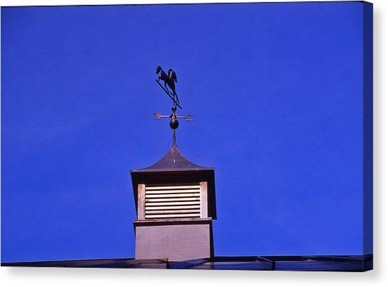 Weather Vane Canvas Print by Randy Muir