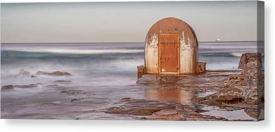Australian Beach Canvas Print - Weathered In Time by Az Jackson