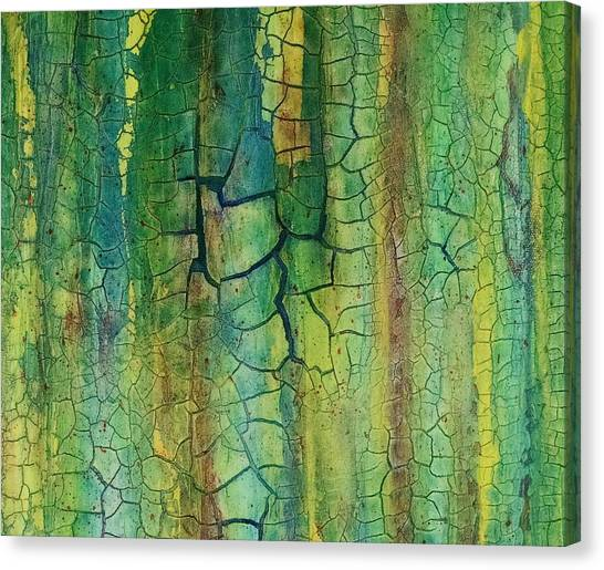 Weathered Moss Canvas Print